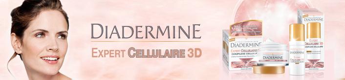 La gamme Diadermine Expert Cellulaire 3D