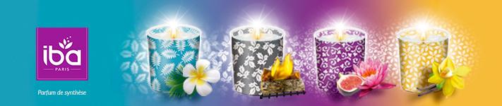 IBA : des bougies qui vous font voyager